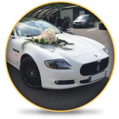 Maserati Quattroporte Mariage