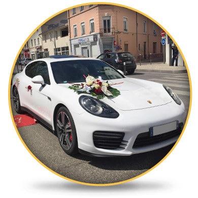 Porsche Panamera Mariage