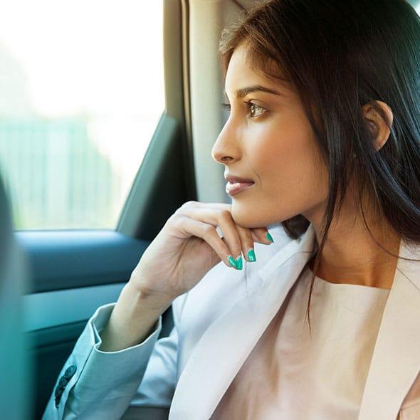 Chauffeur pour femme