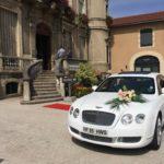 La voiture de mariage, une vieille tradition.