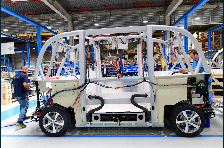 Robot taxi Autonom Cab