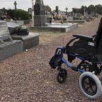 Fauteuil roulant gratuit au cimetière une idée Wavrinoise.